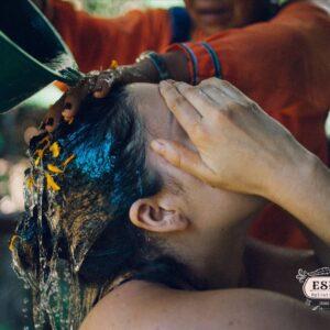 亞馬遜叢林儀式用花浴